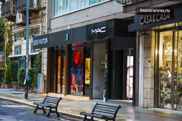 Луи Витон магазин в Италии