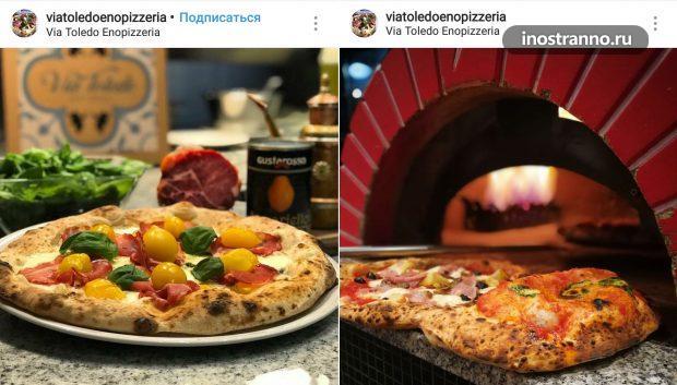 Via Toledo Enopizzeria настоящая пиццерия в Вене