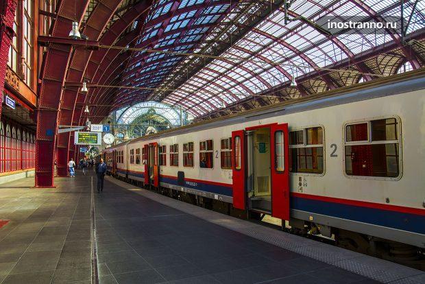 Бельгийские железные дороги
