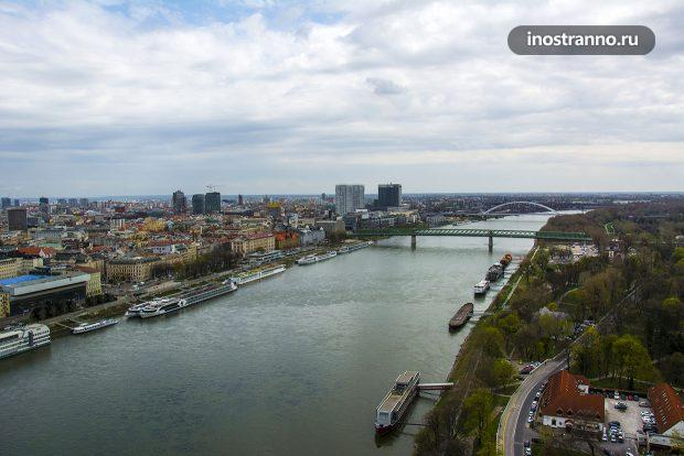 Мосты через Дунай в Братиславе