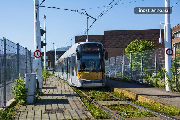 Трамвай в Брюсселе