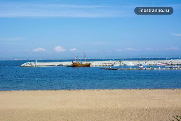 Пляжный курорт в Болгарии