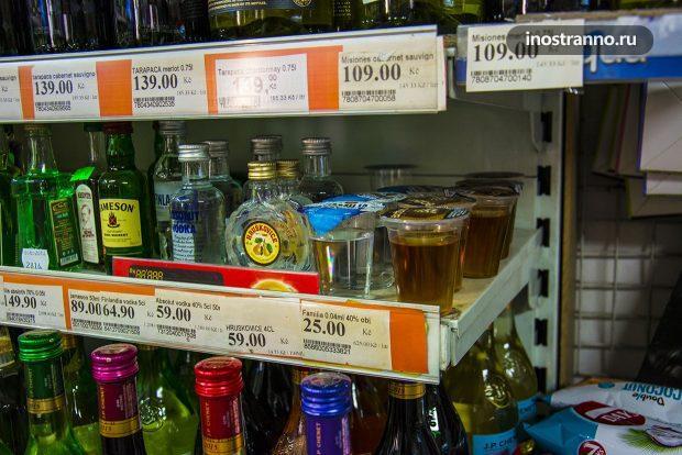 Самые дешевые спиртные напитки в Европе и Чехии