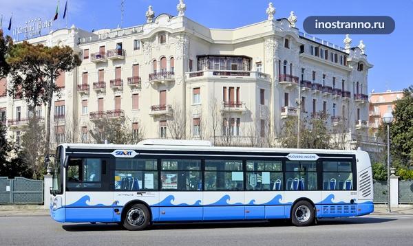 Автобус из аэропорта Римини