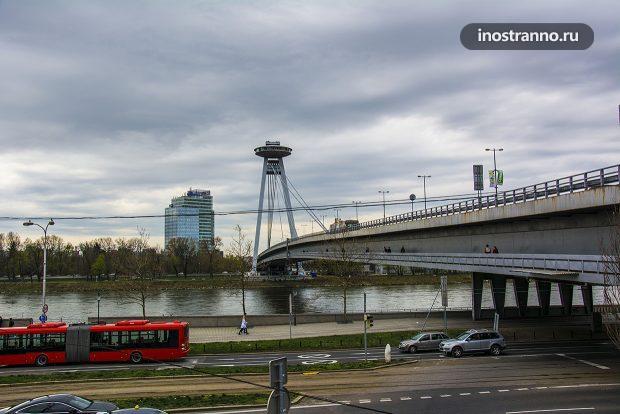 Мост СНП в Братиславе