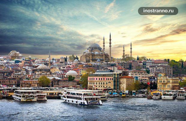 Обзорная экскурсия по Стамбулу на автобусе