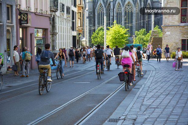 Велосипеды в Европе
