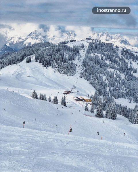 Кирхберг Тироль Горнолыжный курорт в Австрии