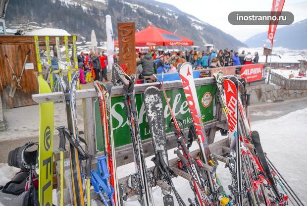 Аренда лыж на горнолыжных курортах Австрии
