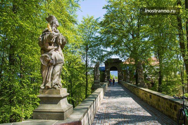 Замок Вальдштейн в Чехии