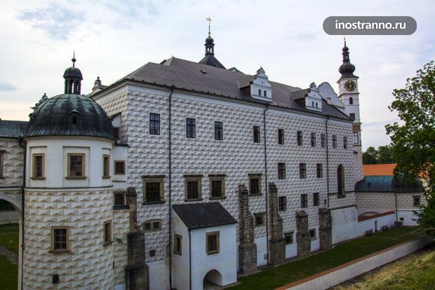 Замок в Пардубице достопримечательность