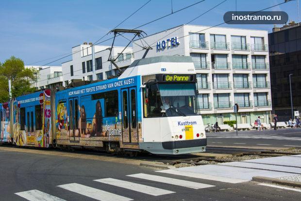 Самая протяженная трамвайная линия в мире Бельгия