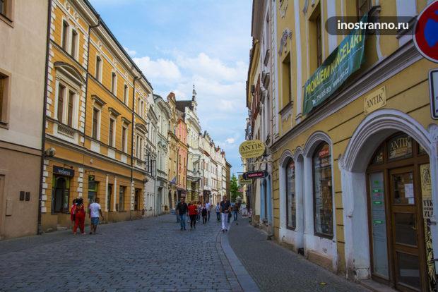 Старинная улочка в Чехии