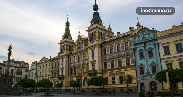 Пардубице ‒ город, знаменитый лошадями и красивым замком