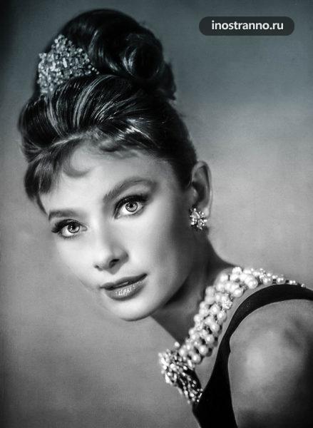 Одри Хепберн актриса из Бельгии