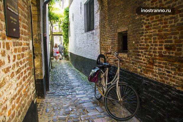 Улочки старого Антверпена