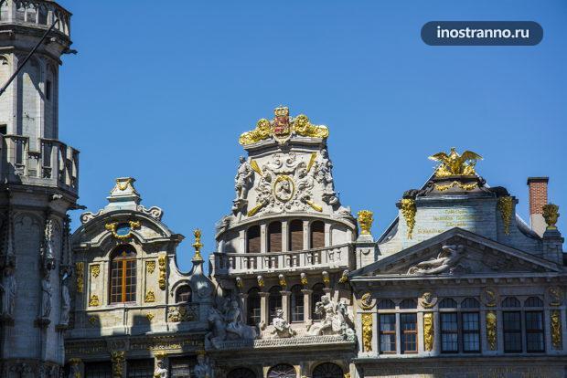 Архитектурные элементы в Брюсселе