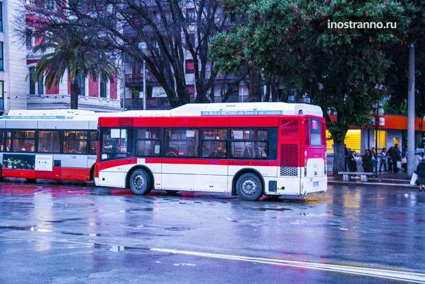 Автобус в аэропорт Бари