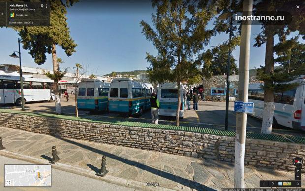 Автобус в Бодруме