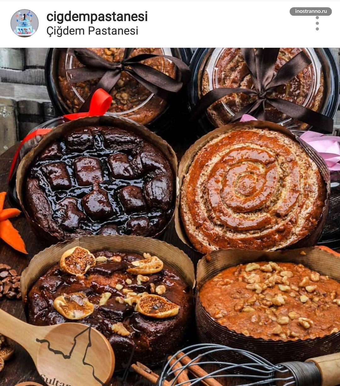 Cigdem Pastanesi кофейня с лучшими десертами в Стамбуле
