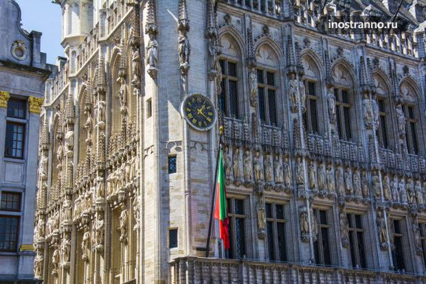 Ратуша в Брюсселе, достопримечательность и архитектура