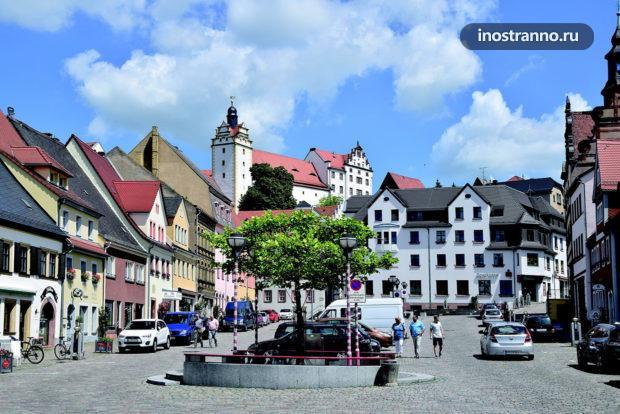 Город Кольдиц в Германии