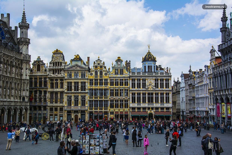 История площади Гран Плас в Брюсселе