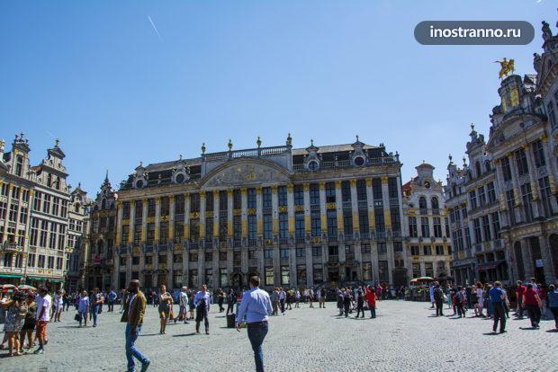 Дом герцогов Брабантских на главной площади Брюсселя