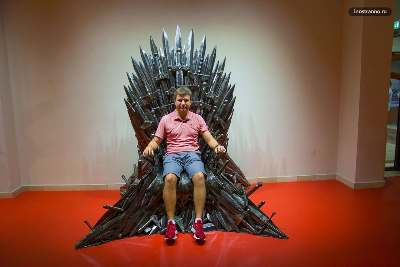 Железный Трон Семи Королевств из сериала Игра престолов