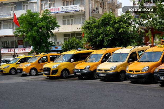 Такси из аэропорта в центр Измира, такси в Измире