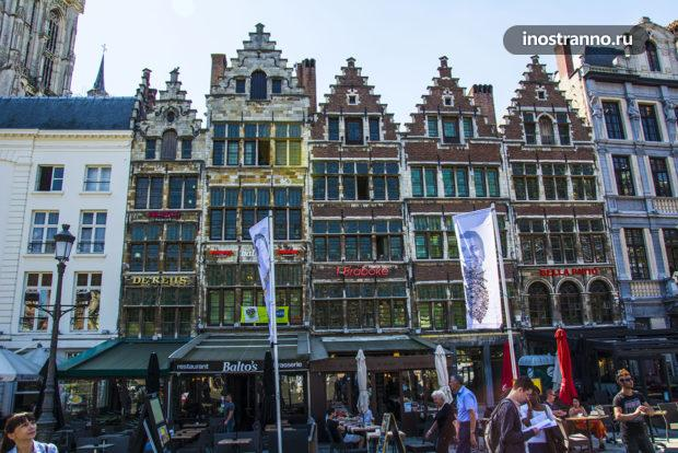 Рестораны с красивым видом в Антверпене