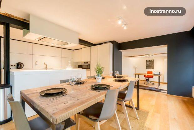 Красивая квартира для посуточной аренды в Брюсселе