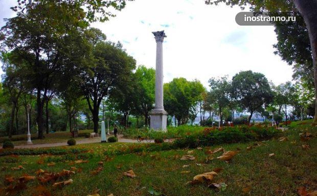 Готская колонна в Стамбуле