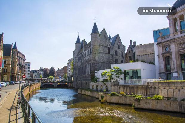 Замок Жерара Дьявола в бельгийском Генте