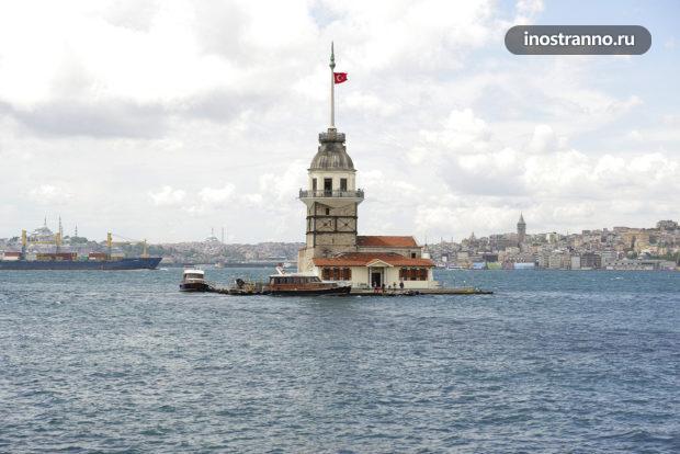 Девичья башня в Стамбуле необычное место