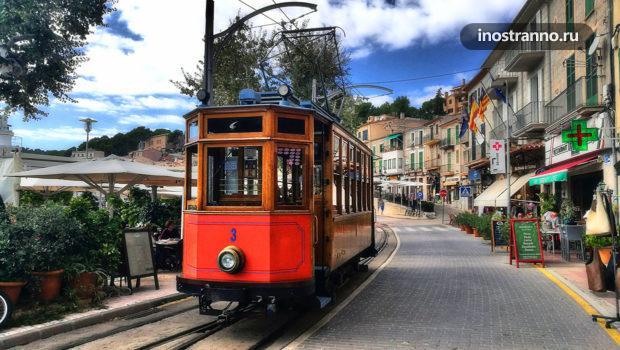 Трамвай Пальма-де-Майорка Сольер