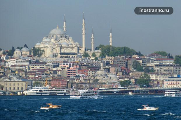 Мечеть Сулеймание в Стамбуле