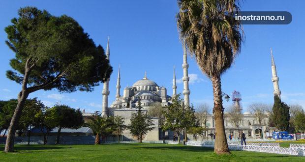 Голубая мечеть что посетить в Стамбуле