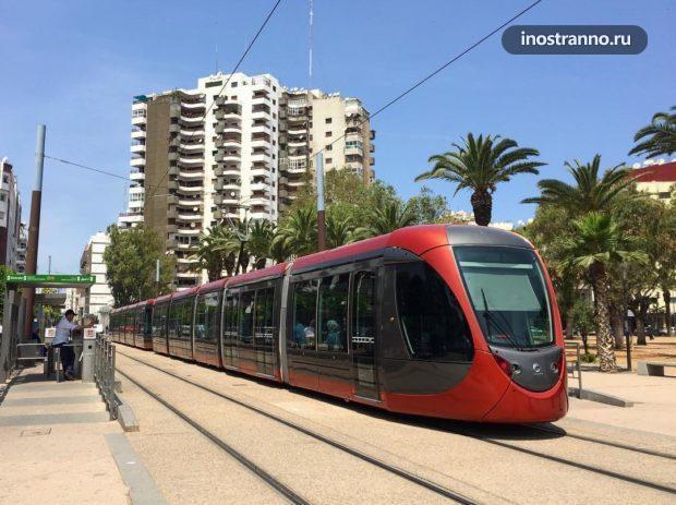 Трамвай в Касабланке