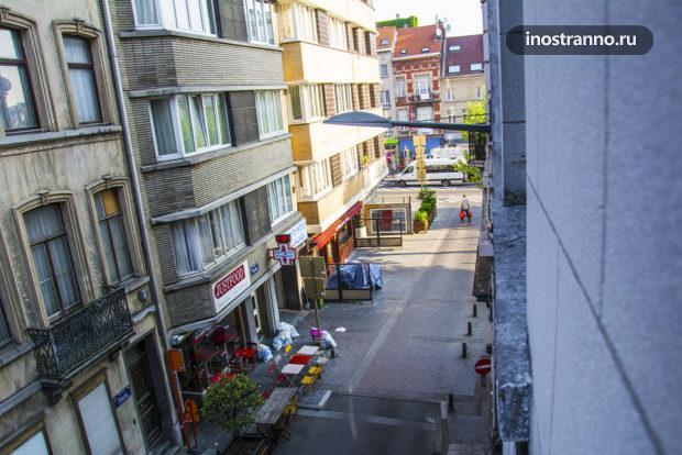 Вид из квартиры в Брюсселе