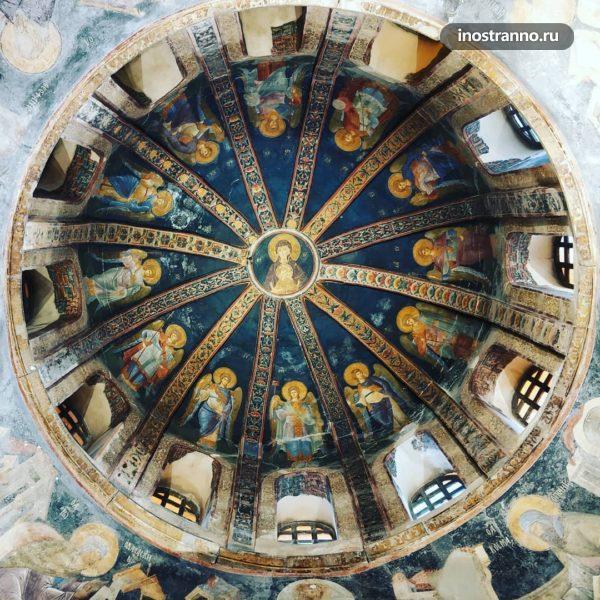 Музей Карие в монастыре Хора в Стамбуле