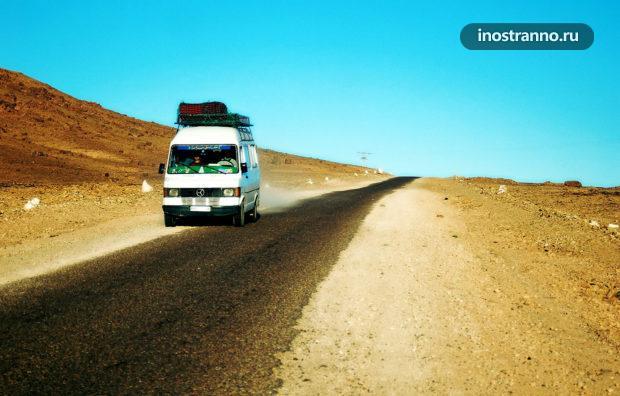 Маршрутка в Марокко