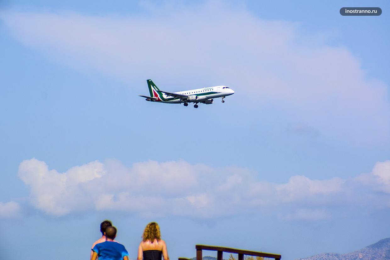 Самолет и авиабилеты Alitalia