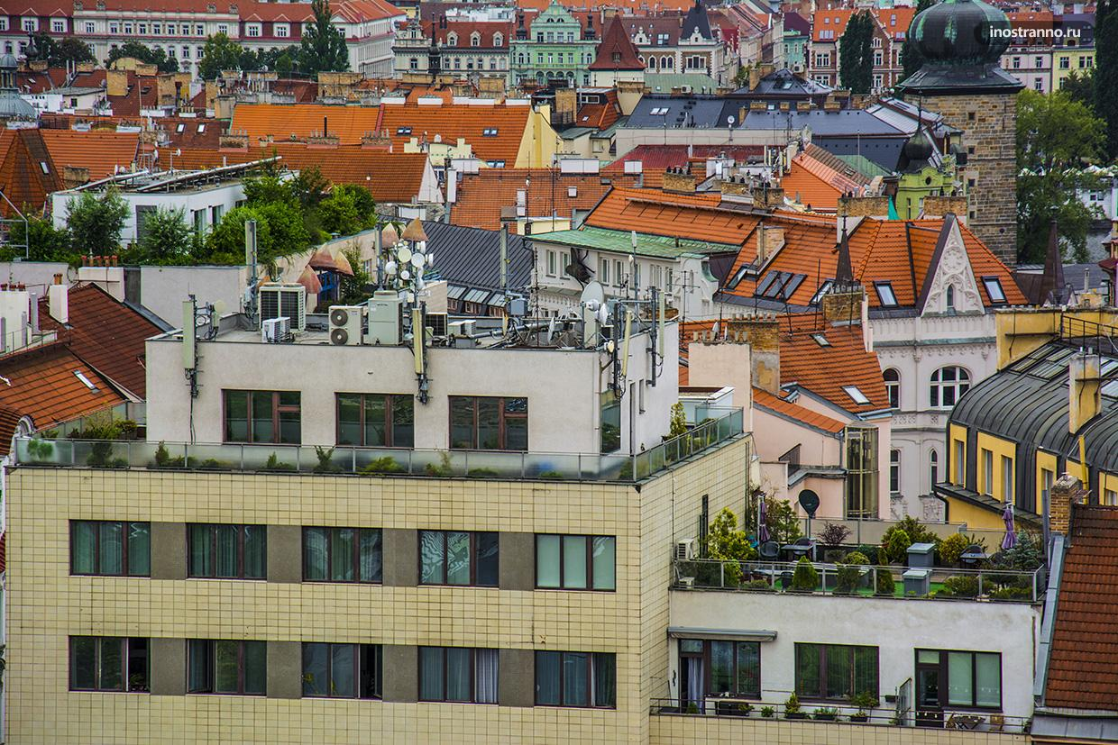 Квартира в Праге с террасой