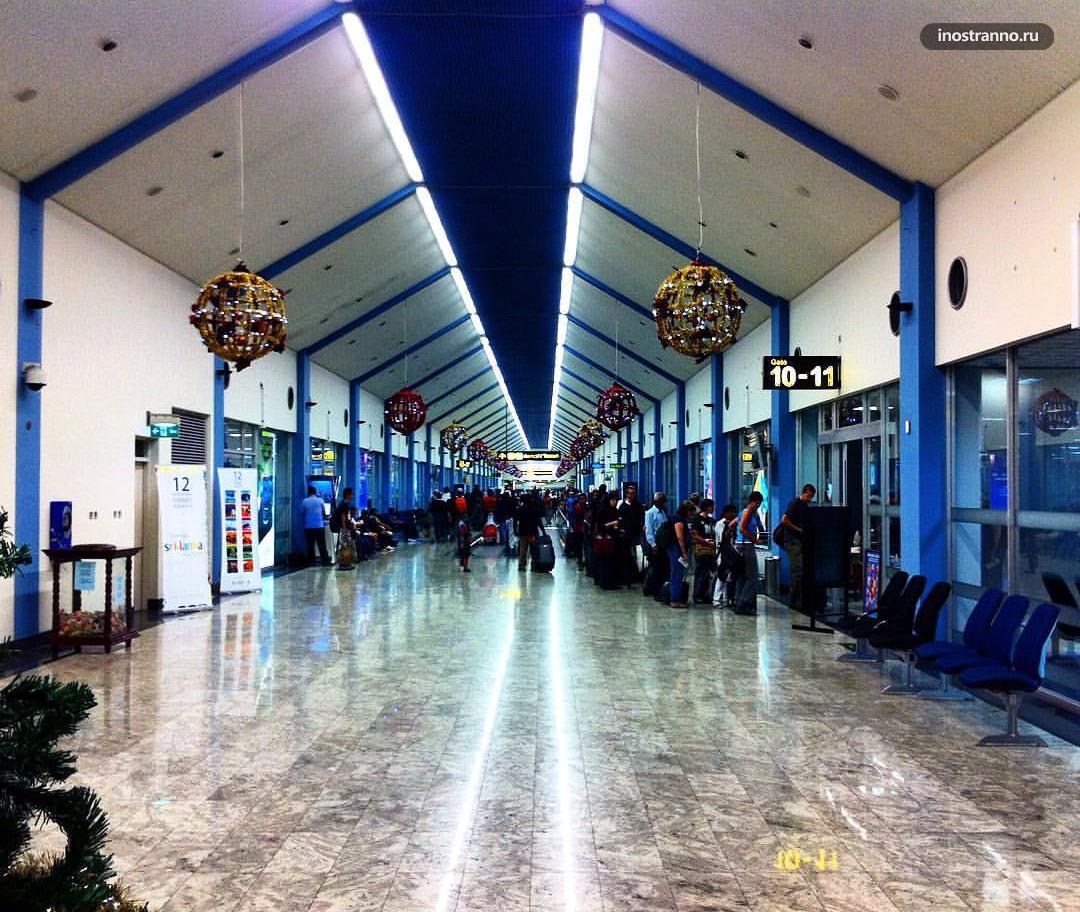Аэропорт на Шри-Ланке Коломбо Бандаранайке