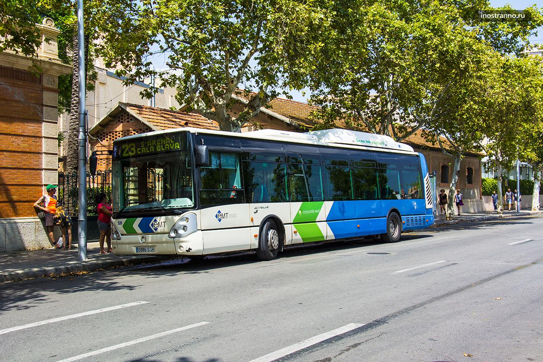 Автобус из Эль Ареналь до Пальма-де-Майорка