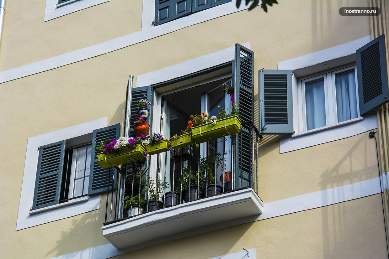 Европейские балконы