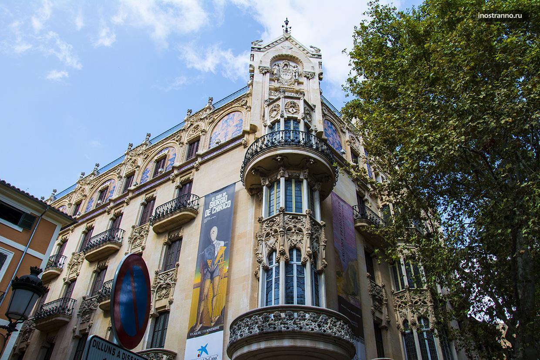 Здание Gran Hotel на Майорке