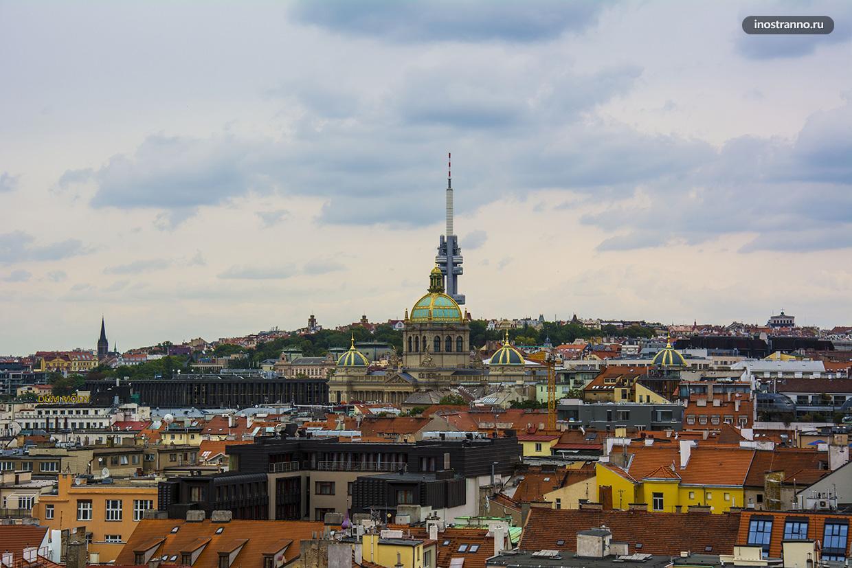 Прага 3 панорама