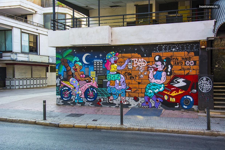 Граффити в Пальме